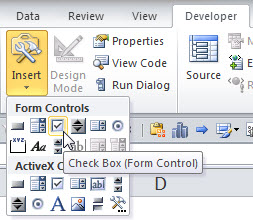 How And Why You Should Use Check Boxes In Excel A4 Accounting