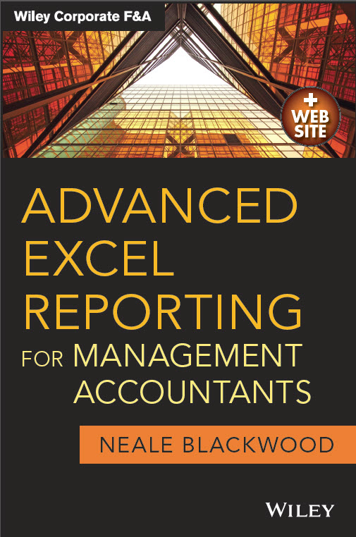 Advanced Excel Reporting Cover