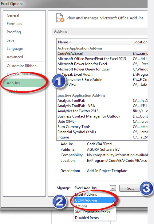 Install PowerPivot