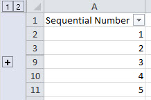 Sequential grouped