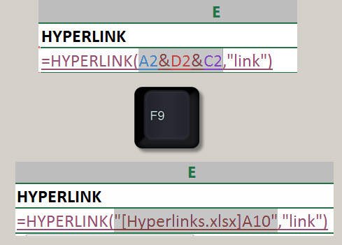 Flexible Hyperlinks in Excel | A4 Accounting