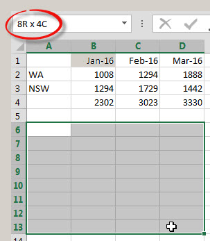 TRANSPOSE Function in Excel | A4 Accounting