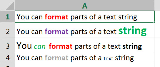 text-format