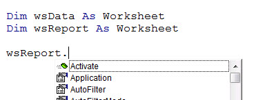 Declaring variables in excel vba a4 accounting a worksheet you get all the options pop up automatically as soon as you press the this alone is a great reason to dim at least object variables ibookread PDF