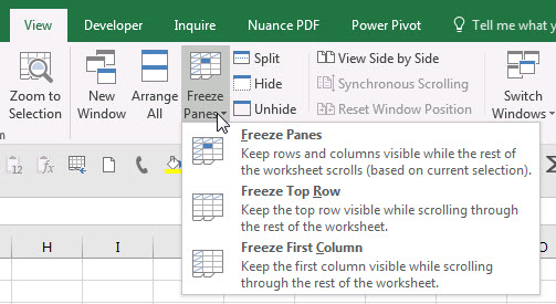 unable to unhide columns or rows in excel a4 accounting