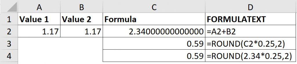 Excel, Subtraction and Accuracy | A4 Accounting
