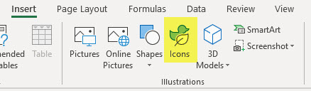 Excel has Icons   A4 Accounting